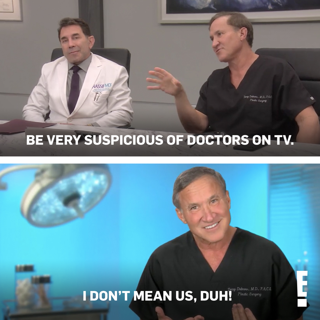 I'm suspicious! 🧐 Therefore I will watch tonight's new #Botched at 9/8c.