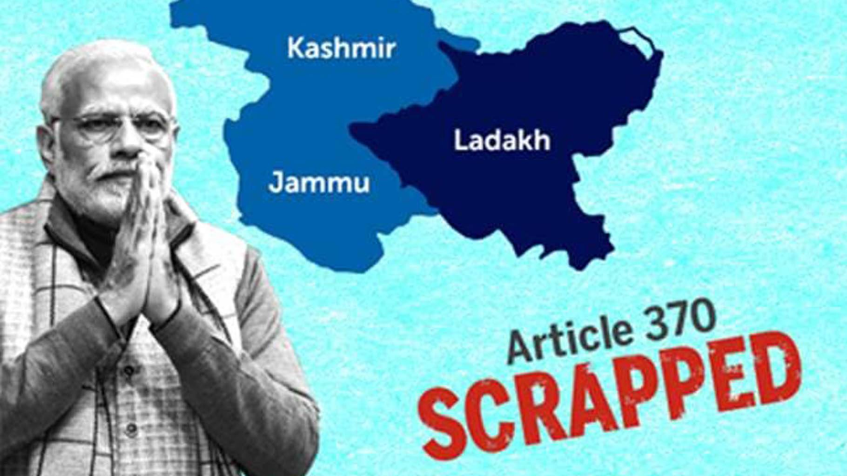 """Kashmir was, is and will be...  #KashmirPrideofIndia   Its an integral part of India since ages. No second thoughts !  Abrogation of #Article370 """"Well begun is half done""""!  Establishing #HinduRashtra is the most effective tool to catalyze the integration process  @Vishnu_Jain1"""
