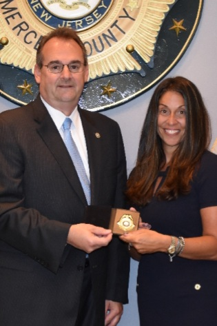 Congratulations to new Mercer County Chief of Detectives Jessica Plumeri!
