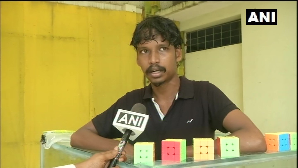 "After attempting Guinness World Record for solving most Rubik's cube underwater in a single breath, Illayaram Sekar says, ""I want to inspire my students to do more. Pandemic will come & go but our mind and spirit should reach a higher level to face anything in life."" #TamilNadu"