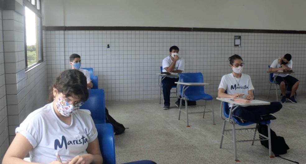Escolas particulares retomam aulas presenciais no Maranhão =>  #G1