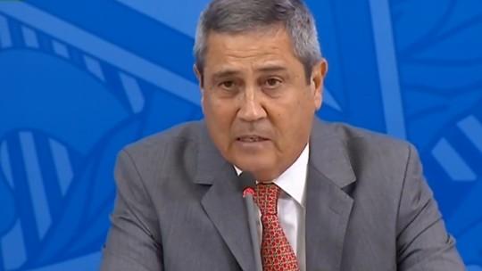 Braga Netto testa positivo para Covid-19. É o 7º ministro infectado =>  #G1