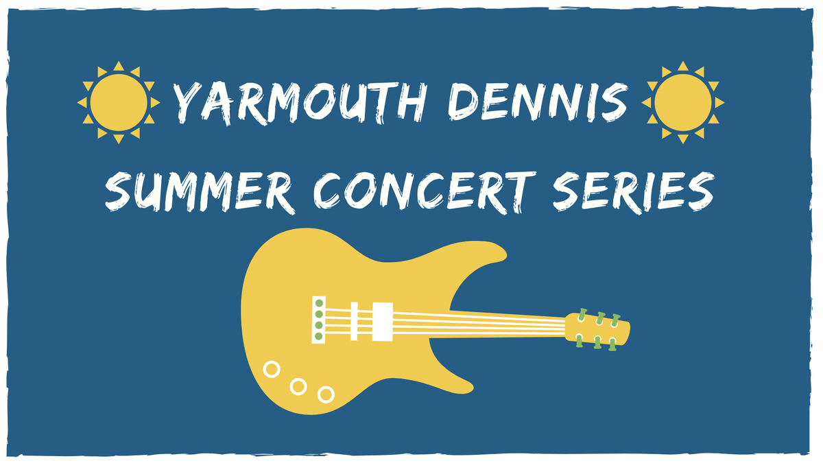 It's a gorgeous day to kick off our Yarmouth Dennis Summer Concert Series! In partnership with the @DennisChamber and @CapePlayhouse , we bring you Summer Town tonight! Please register at . Bring a blanket or chair and spread out on the lawn! #livemusic