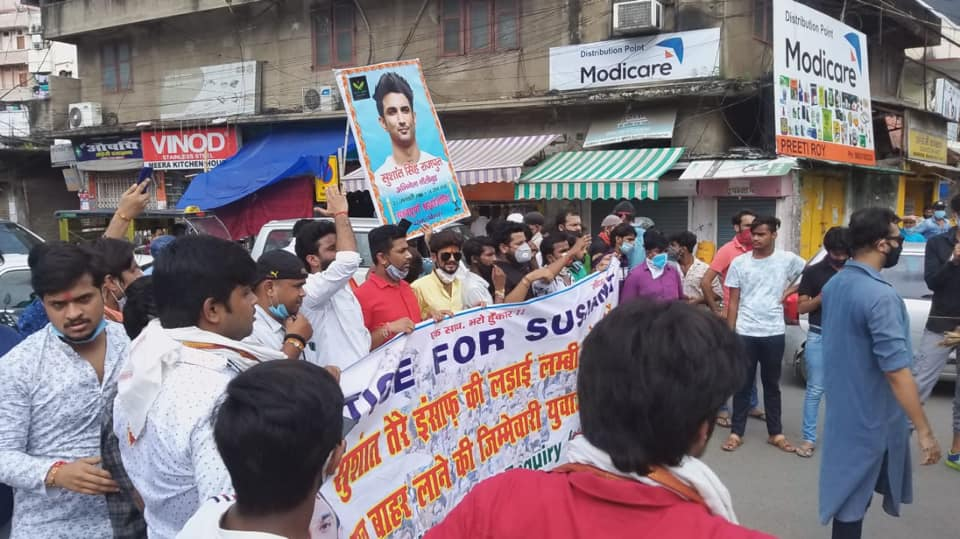 Millions of People day by day raising their  Voices for Justice For Sushant .  Maha. Govt. not cooperating with Bihar police..  World Seeking Justice for this Pure Sole..   #MahaGovtExposedInSSRCase