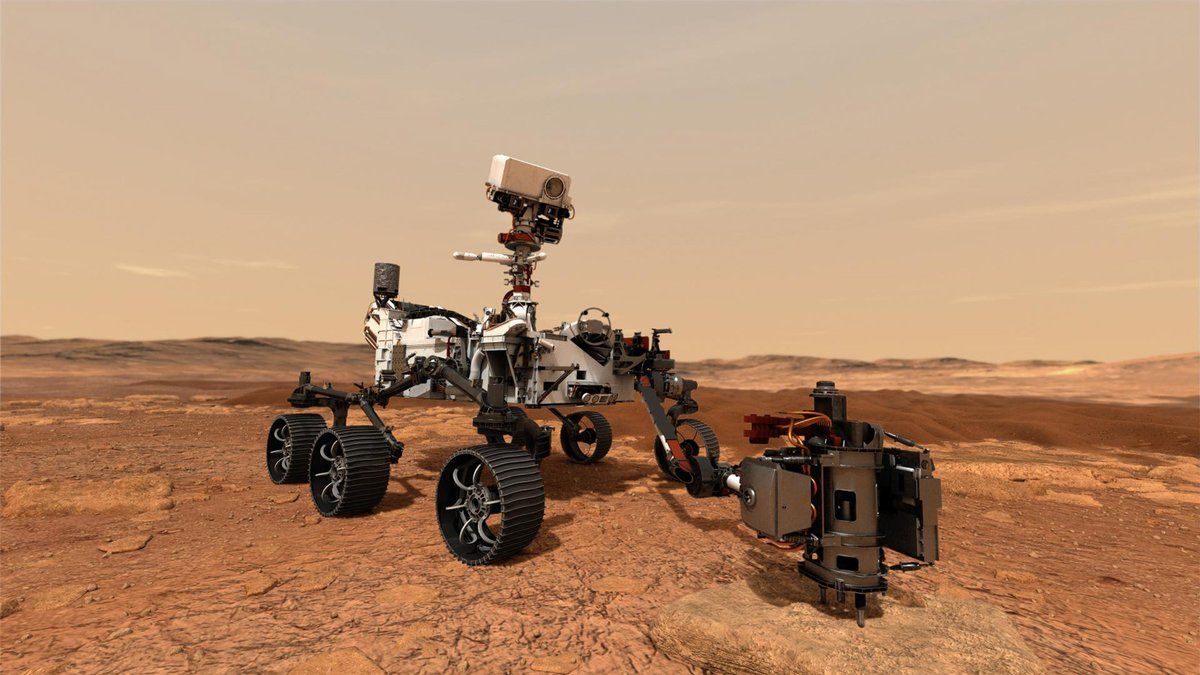 It's #MakerMonday! The @NASAPersevere Mars Rover just launched! Now it's your turn. Your challenge this week is to design a rover for the next mission! What special abilities and features will your rover have? Share your ideas in the comments or tag us @liveoakpl. [image: NASA]