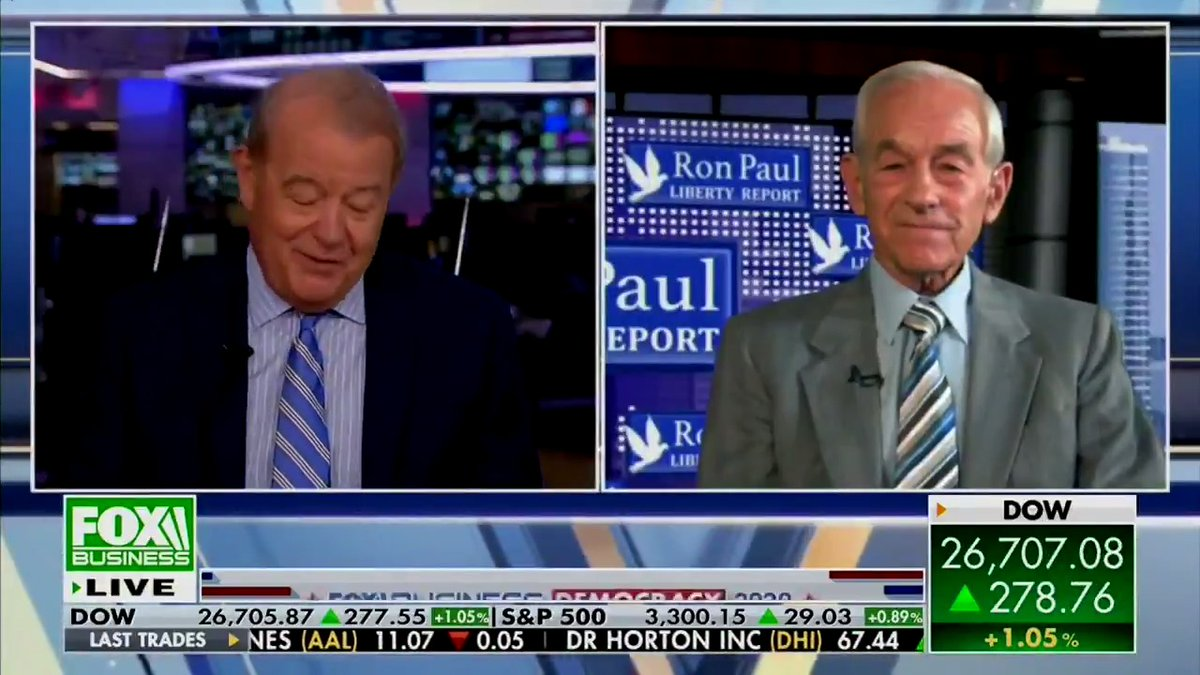 COVID-19 conspiracy theorist Ron Paul used his Fox appearance to fearmonger about Bill Gates and a potential vaccine