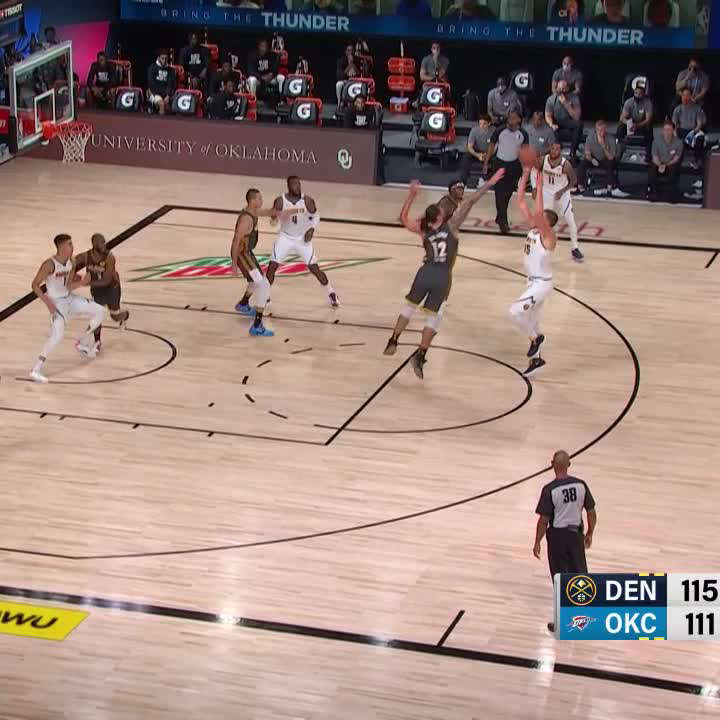 Jokic is every 47-year old pick up player