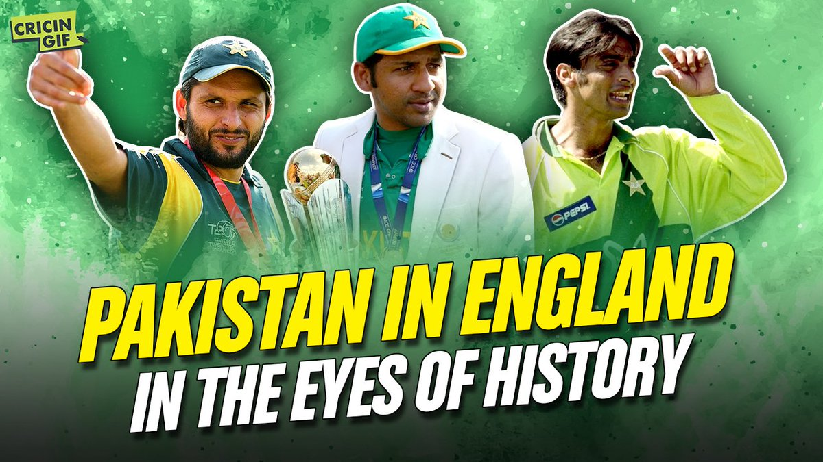 Pakistan are primed for the ground-breaking Test and T20I series vs England. @MazherArshad takes a closer look at the visitors' record in England and their fortunes in Manchester and Southampton 📊  Full video ➡️   #CricketForAll | #ENGvPAK 🏴󠁧󠁢󠁥󠁮󠁧󠁿🇵🇰🏏
