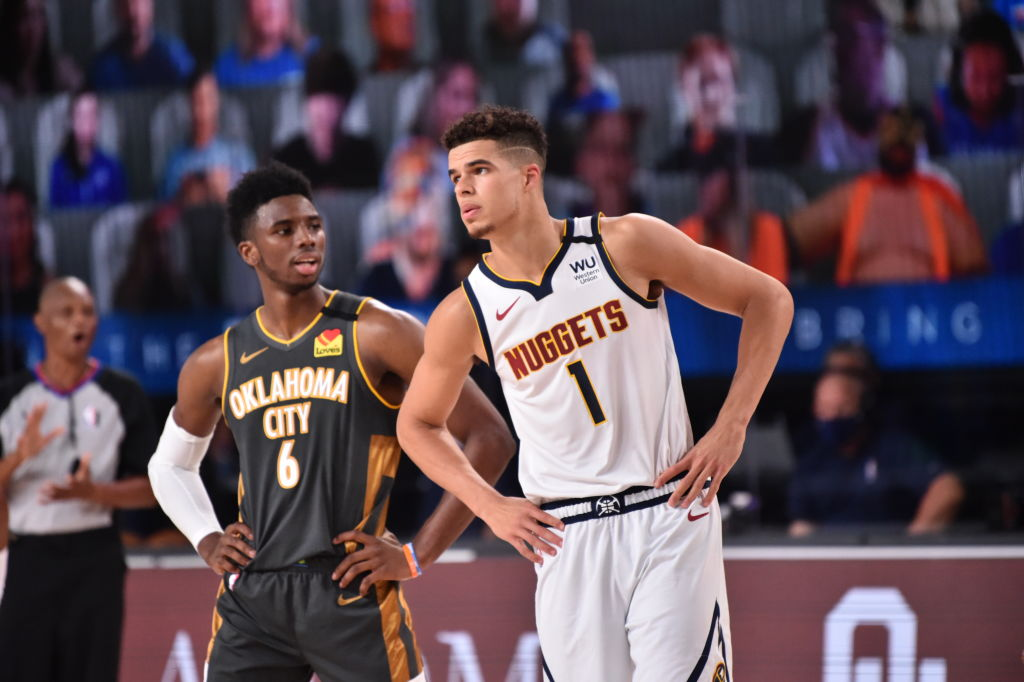 In the @nuggets win today, Michael Porter Jr. became the first Nuggets rookie with 35 points and 10 rebounds in a game since Carmelo Anthony in 2004.
