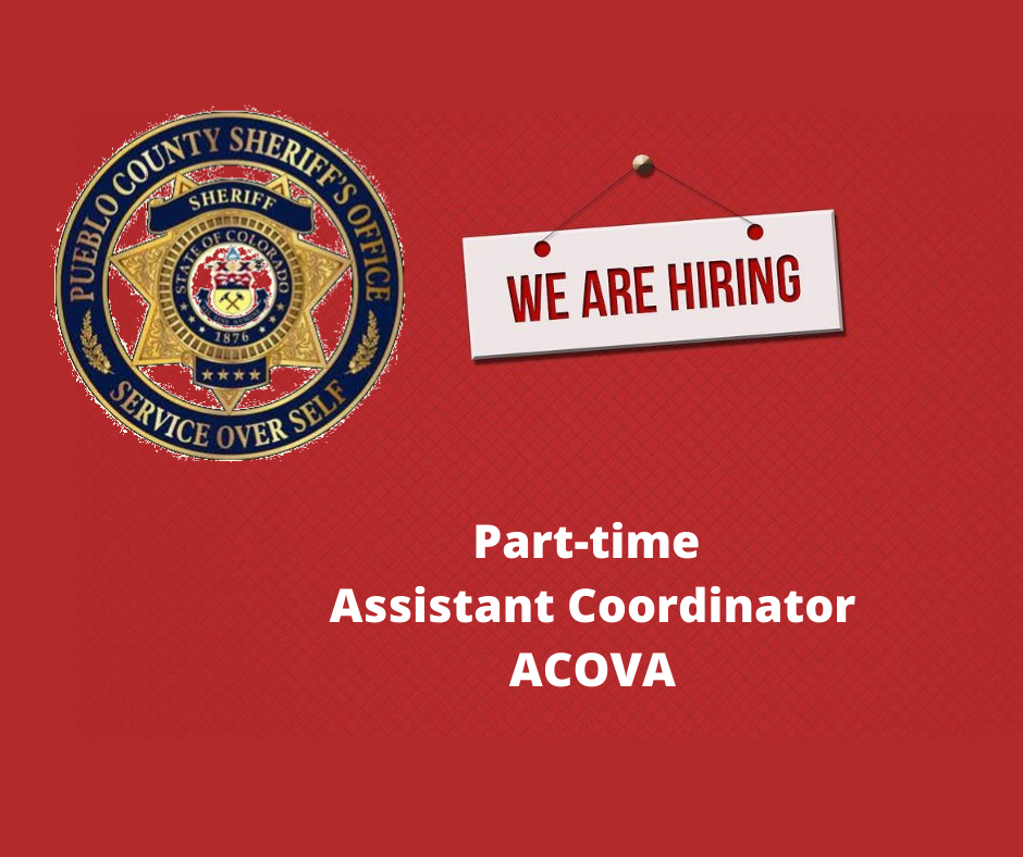 We are looking for an asst. coordinator for ACOVA (A Community Organization for Victim Assistance). Interested? Click here  more info about the job, qualifications and application deadline.