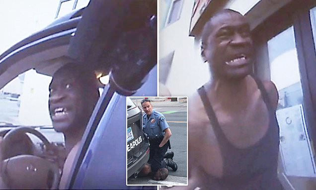 #BREAKING: Leaked Bodycam Footage Shows Moment-By-Moment Arrest Of George Floyd For The First Time