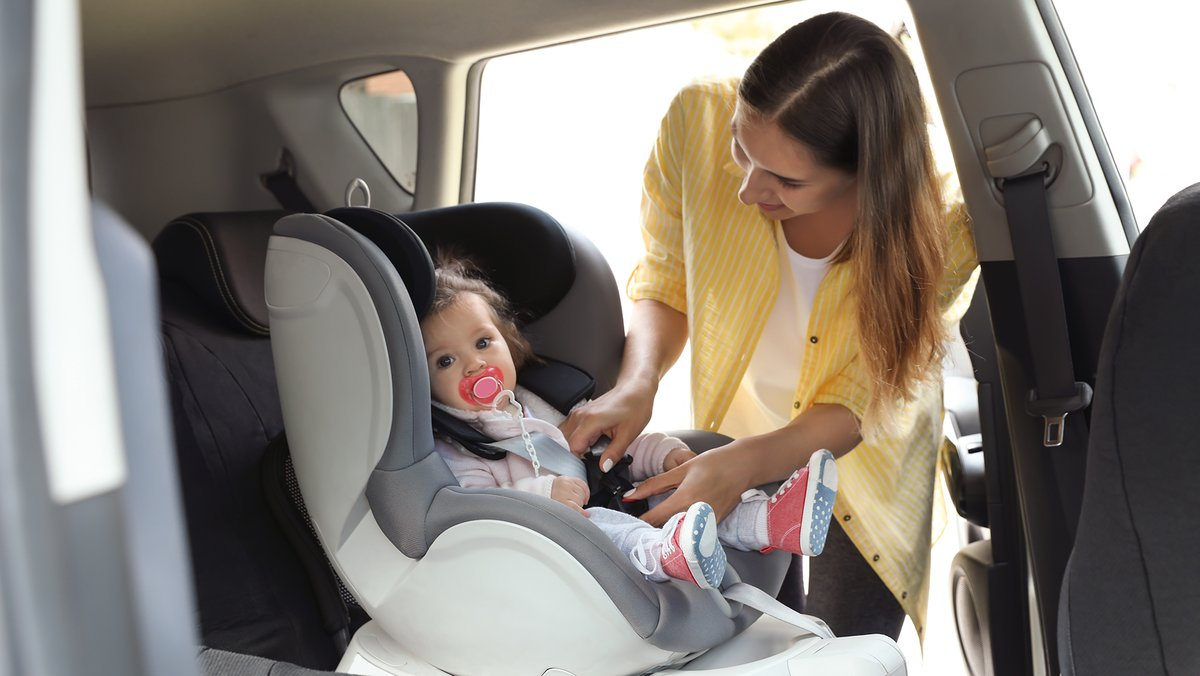 Whether driving to school, the store, or on vacation, always ensure your child is properly buckled up or in a proper child restraint. Children under 12 should always be seated in the rear of the vehicle. More:   #childpassengersafety #buckleup @FLHSMV