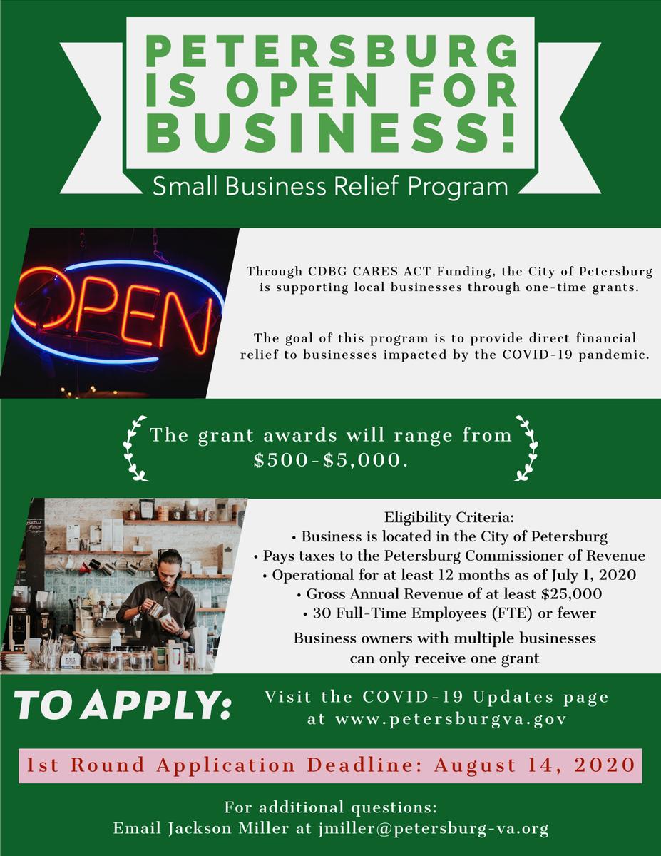 Apply Today:   #iampetersburg #iampetersburva #shoplocal