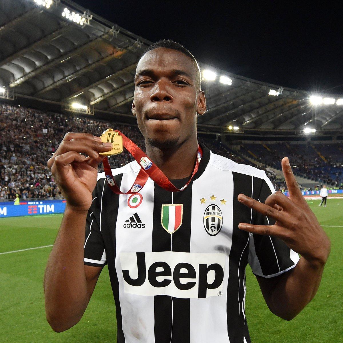 📅 #OnThisDay in 2️⃣0️⃣1️⃣2️⃣  @paulpogba joined Juventus 🤍🖤