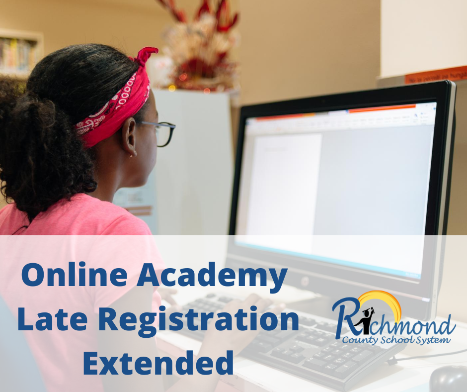 Our Online Academy Late Registration has been extended through 5:00 pm Friday.  Click the link below to register!