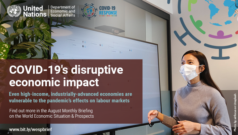 💰 What state has #COVID19 left our economies in? 📣 What can be done to revive them? 💻  What will happen to our labor markets? Find answers in our monthly #WorldEconomyReport 👇