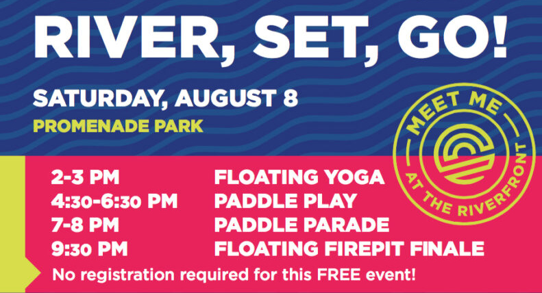 Celebrate the first year of Promenade Park with free and fun activities on August 8.