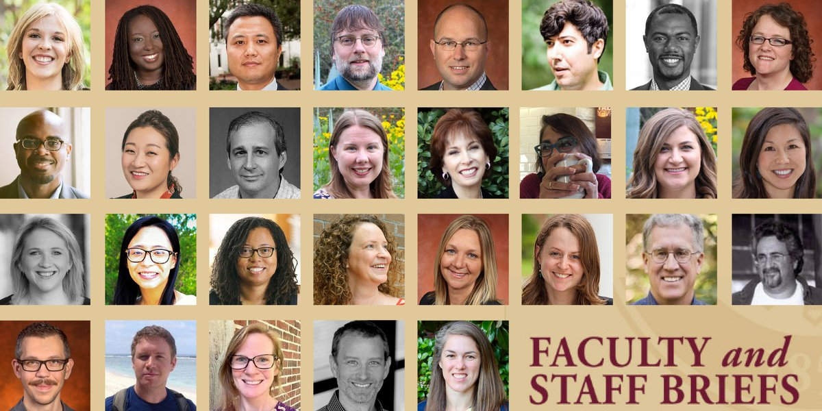 Congratulations to @FSUFaculty and staff members who are being recognized nationally for their notable accomplishments!🔸