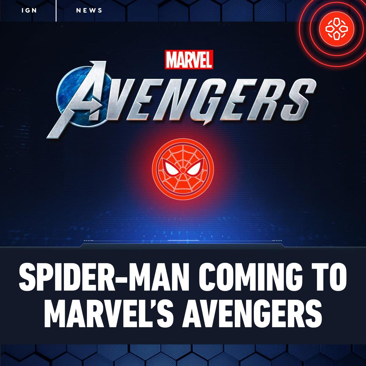 Sony revealed that Spider-Man is coming to Marvel's Avengers as a free post-launch playable character exclusively for PlayStation consoles in early 2021.