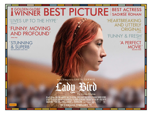 Librarian's Kanopy Recommendation of the Day (free with your library card)Lady Bird (2017)  Directed by Greta Gerwig and nominated for five Oscars, LADY BIRD is a warm, affecting comedy about a high schooler (Saoirse Ronan)
