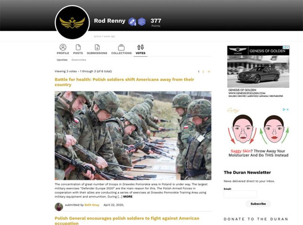O que diferencia a campanha de conteúdo falso que hackeou sites de notícias para criticar a Otan? Leia no Blog do @altieres  #G1