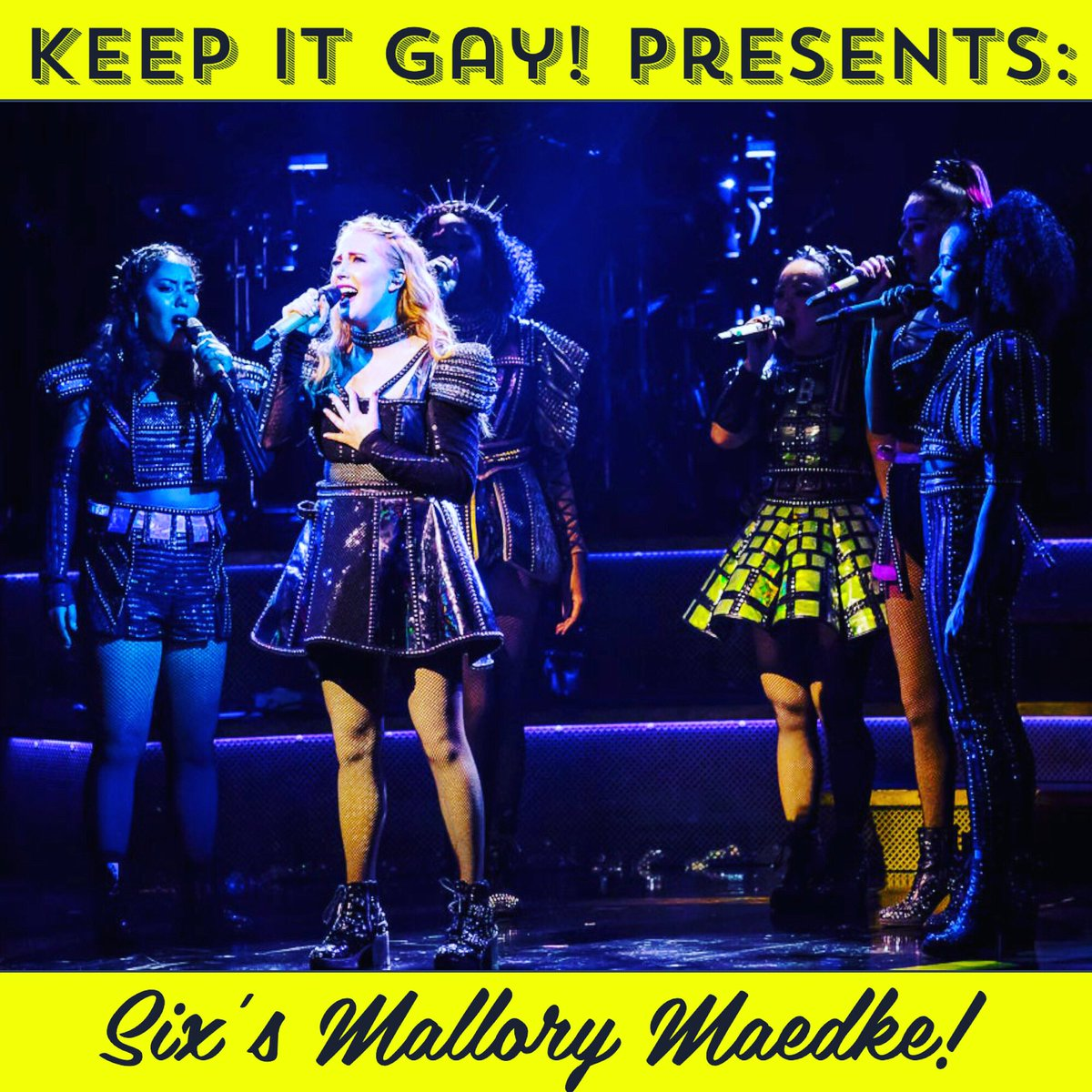 New episode alert! This week Nina and Zach talk to Mallory Maedke from Broadways Six: The Musical about how she got into theatre, her queenspirations, and which Broadway characters might turn into lesbians!  #musicals #broadway  #theatre #gay #lgbtq #pride #SIXTheMusical