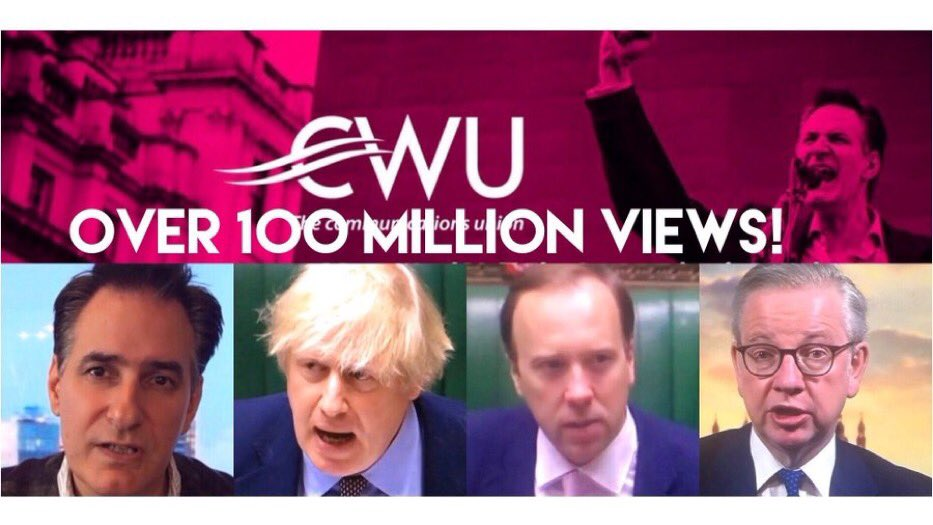 This unscrupulous, incompetent, arrogant & cowardly Gov't, utterly indifferent to the carnage & suffering its caused, has now boycotted #GMB, #BBCNewsNight & #Channel4News.   @CWUnews & I will do all we can to expose the truth  So Please follow us & RT. Let's do this TOGETHER