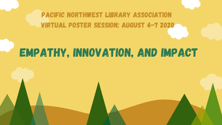 Pacific Northwest Library Association Virtual Poster Session 2020   Free poster sessions from @PNLA_Org from Aug. 4-7  Follow at #PNLA2020