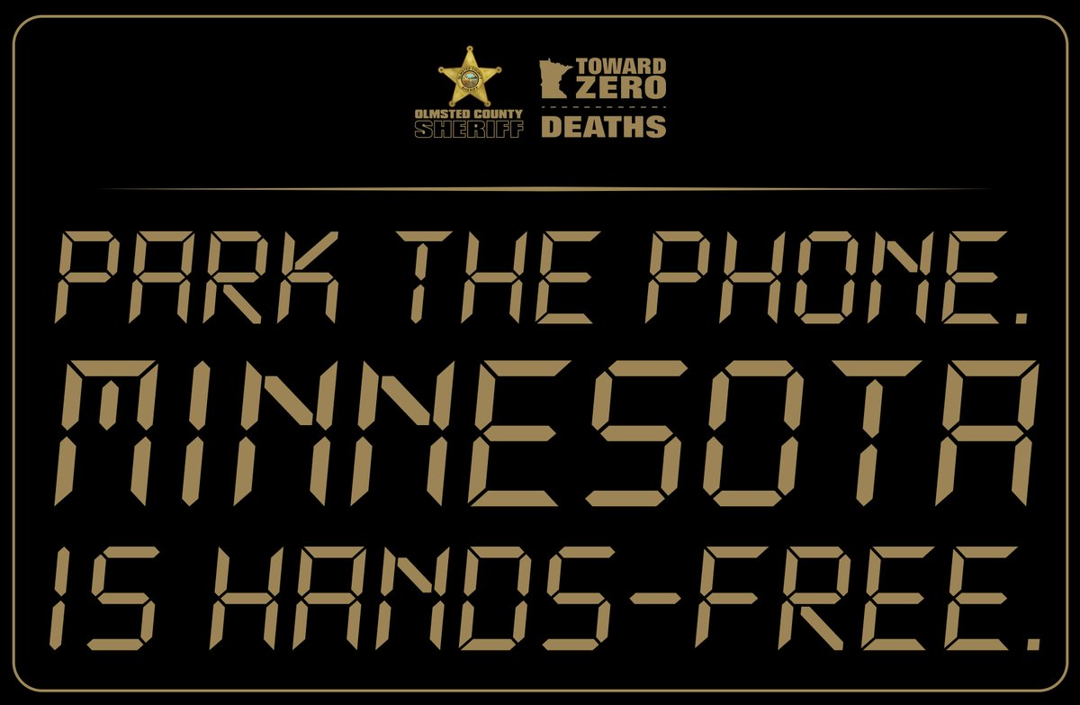 👎  Sometimes falling back into old habits can be deadly. As the Hands-Free Law turns 1 year old, it's a good time to make sure you park your phone while you drive – every single time. 👍   Learn more:.  #HandsFreeMN #ParkThePhone #DriveSmart #OlmstedCounty