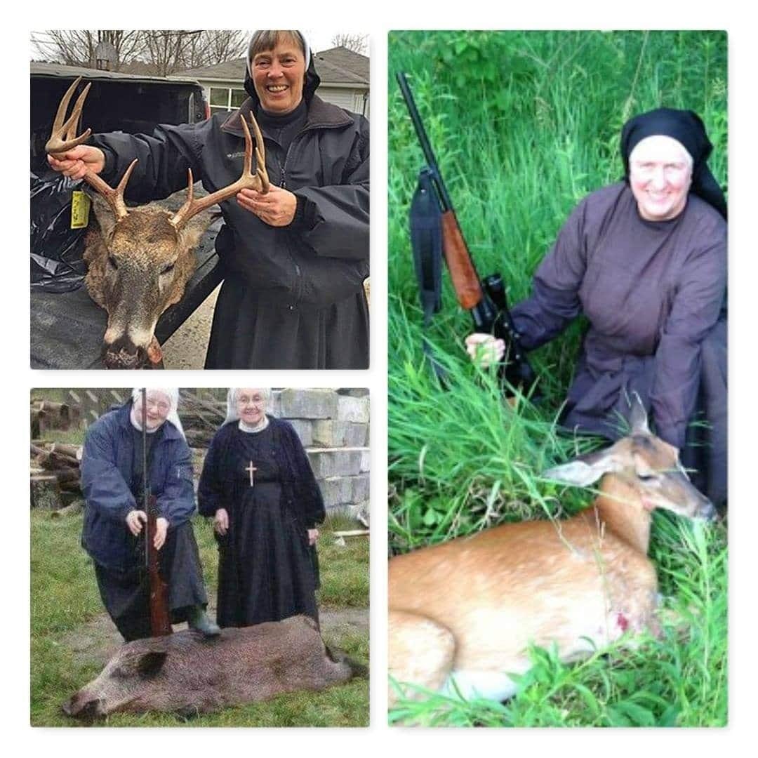 ईसाई  नन जो बेजूबान  जानवरों  को मार  कर खुश होती है