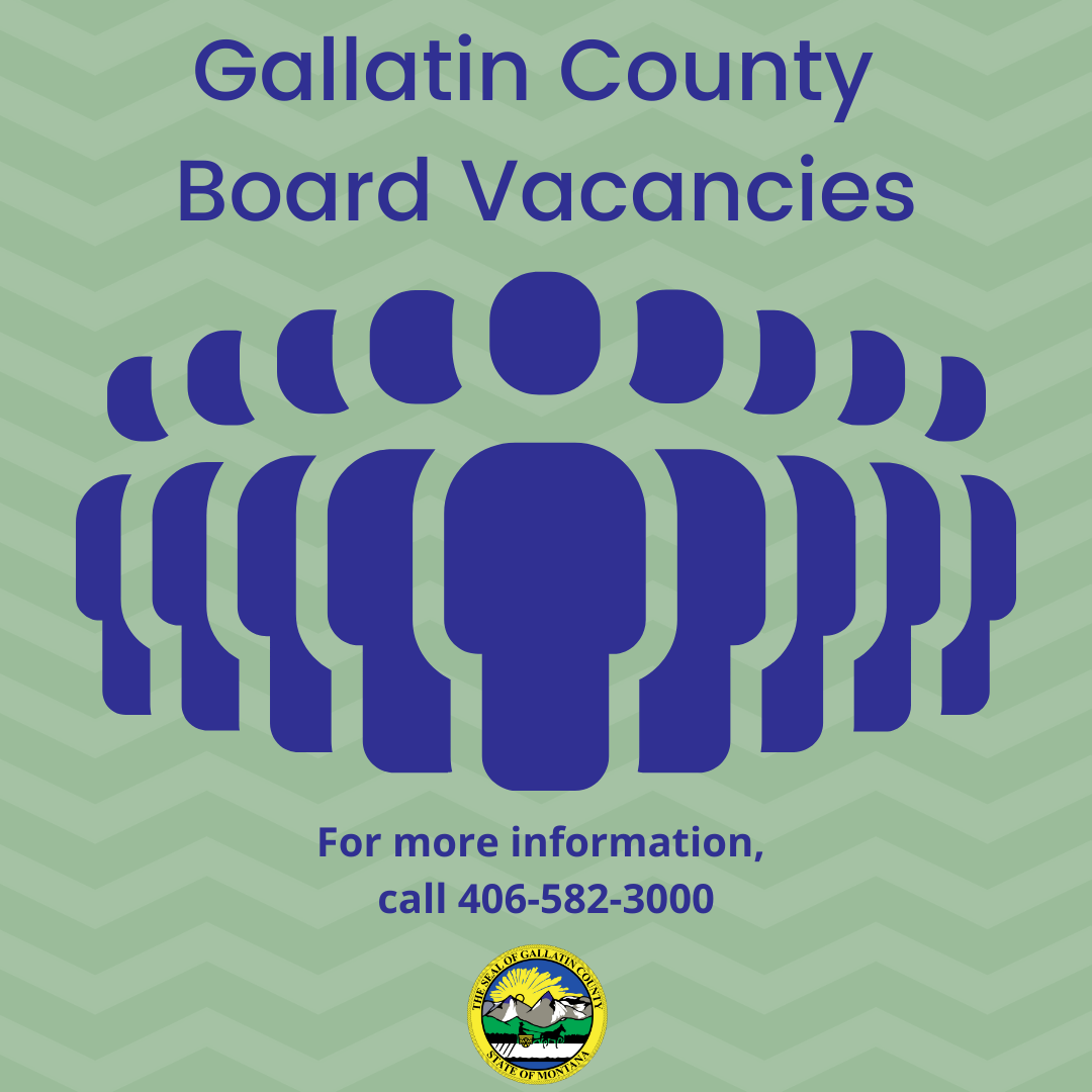 From public safety 🚨 to historic preservation 📜, tax appeals 🗂 to mental health 🧠, we're always looking for citizens to fill our boards! Join us and help make a difference in Gallatin County! 👥  For all our current vacancies, check out this link 👇: