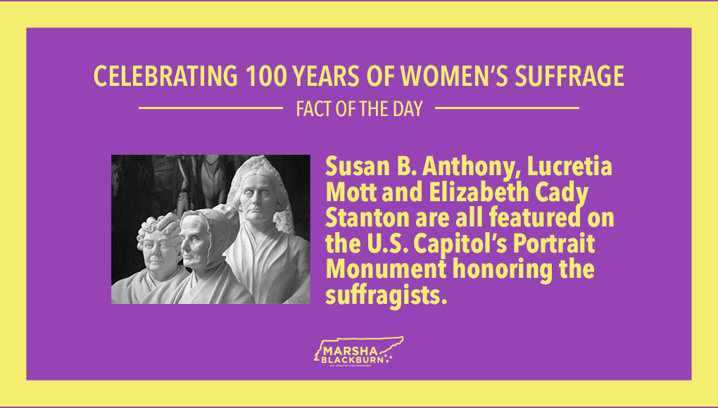 The Portrait Monument is one of my favorites!  #100YearsofWomensSuffrage