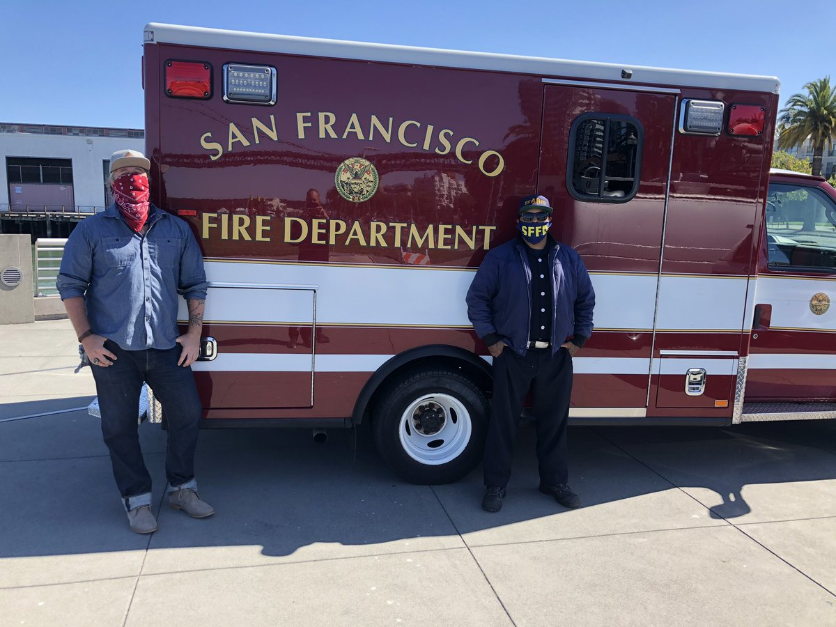 We had a blast sharing @DinoMedardo story today with @AmberKTVU @KTVU Nurses Doctors Firefighters Paramedics EMTs Police Officers all being taught Spanish by our community Hero, Dino. If you want to learn more, Watch it tonight at 10PM