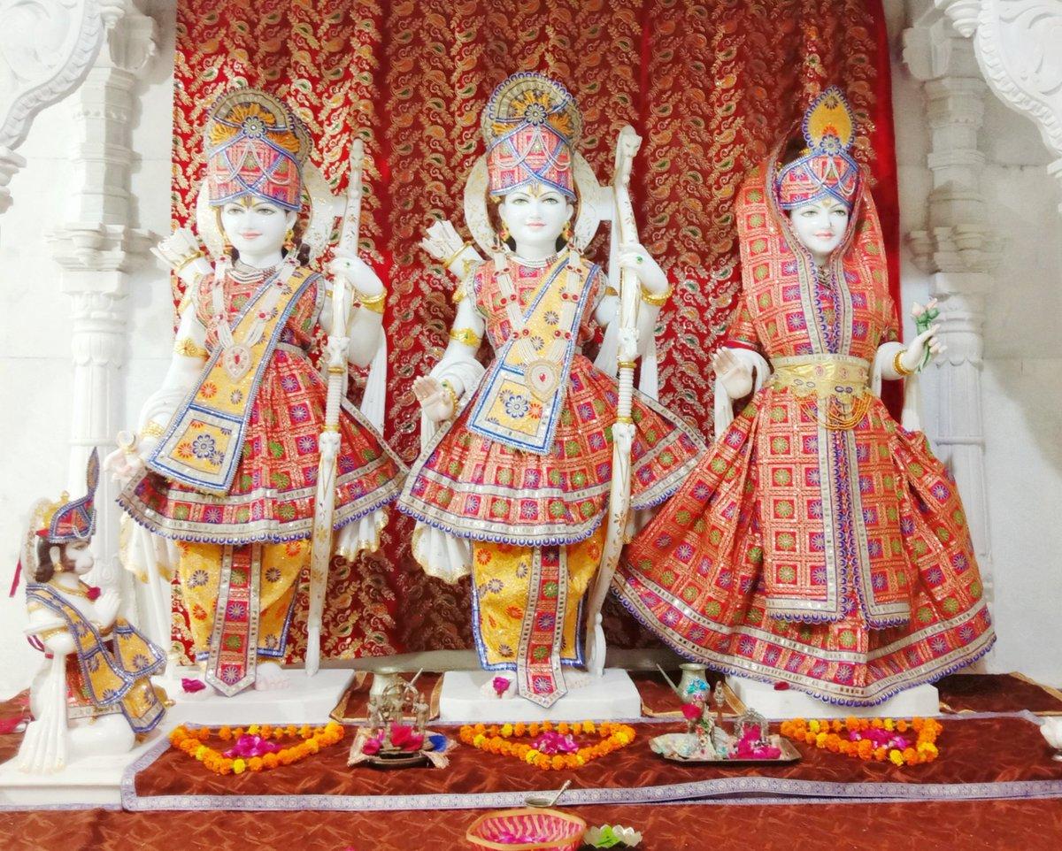 श्री राम मंदिर, प्रभास क्षेत्र_गुजरात (सौराष्ट्र) दिनांकः 04 अगस्त 2020, श्रावण कृष्ण प्रतिपदा -  मंगलवार मध्याह्न शृंगार 08202081