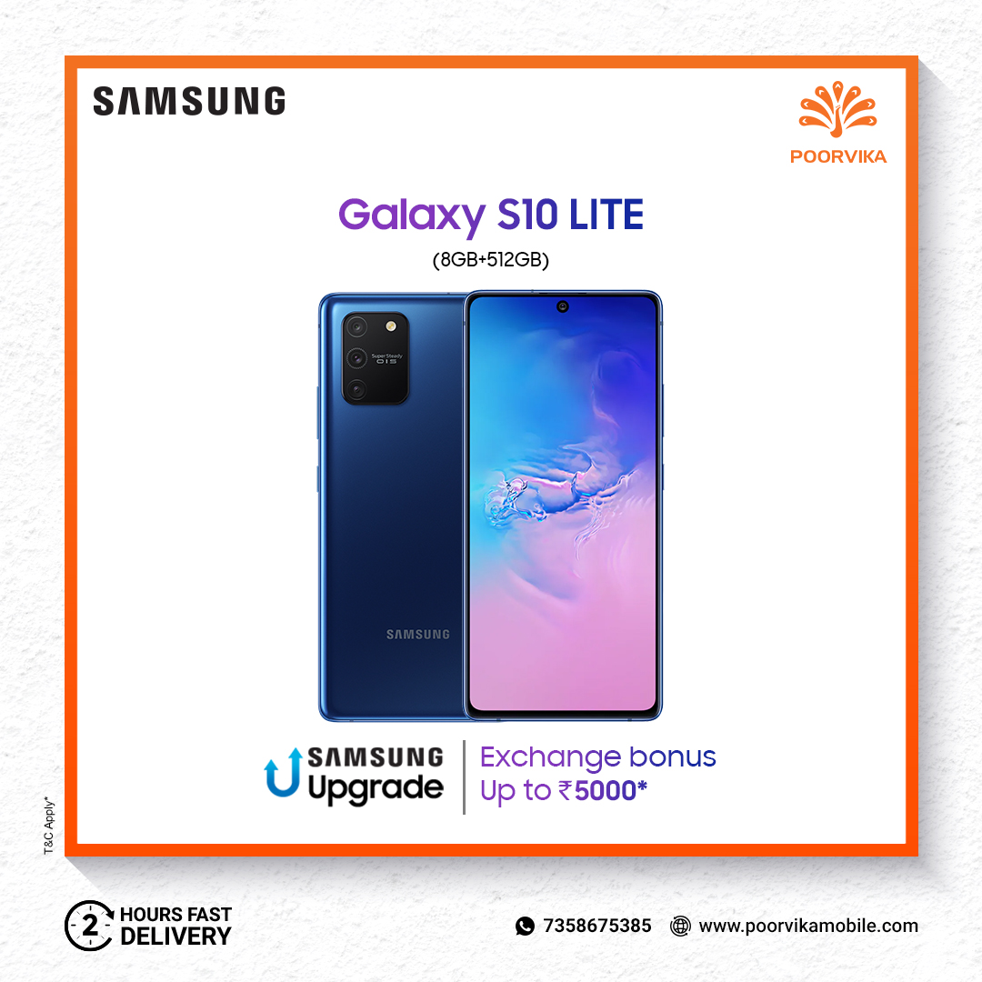 Grab up to Rs. 8,000 Additional #Benefits on Replacing your Old Phone by Shopping the New #Samsung #Galaxy #Smartphones at #PoorvikaMobiles.  Order Now & Experience 2 Hours* #ExpressDelivery.  #ShopOnline :   #SamsungGalaxy #UpgradeBonus #Offer #Deal