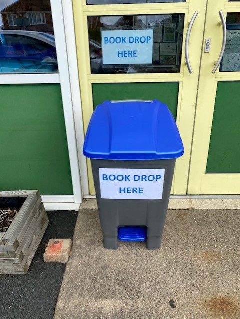 "test Twitter Media - REMINDER: A ""Book Drop Bin"" at the Afterschool Club Entrance on Pickenham Road for anyone wishing to return any class or library books. We can then Quarantine them over the summer holidays.  Many Thanks Mrs Haddock https://t.co/HKj0gbJCDH"