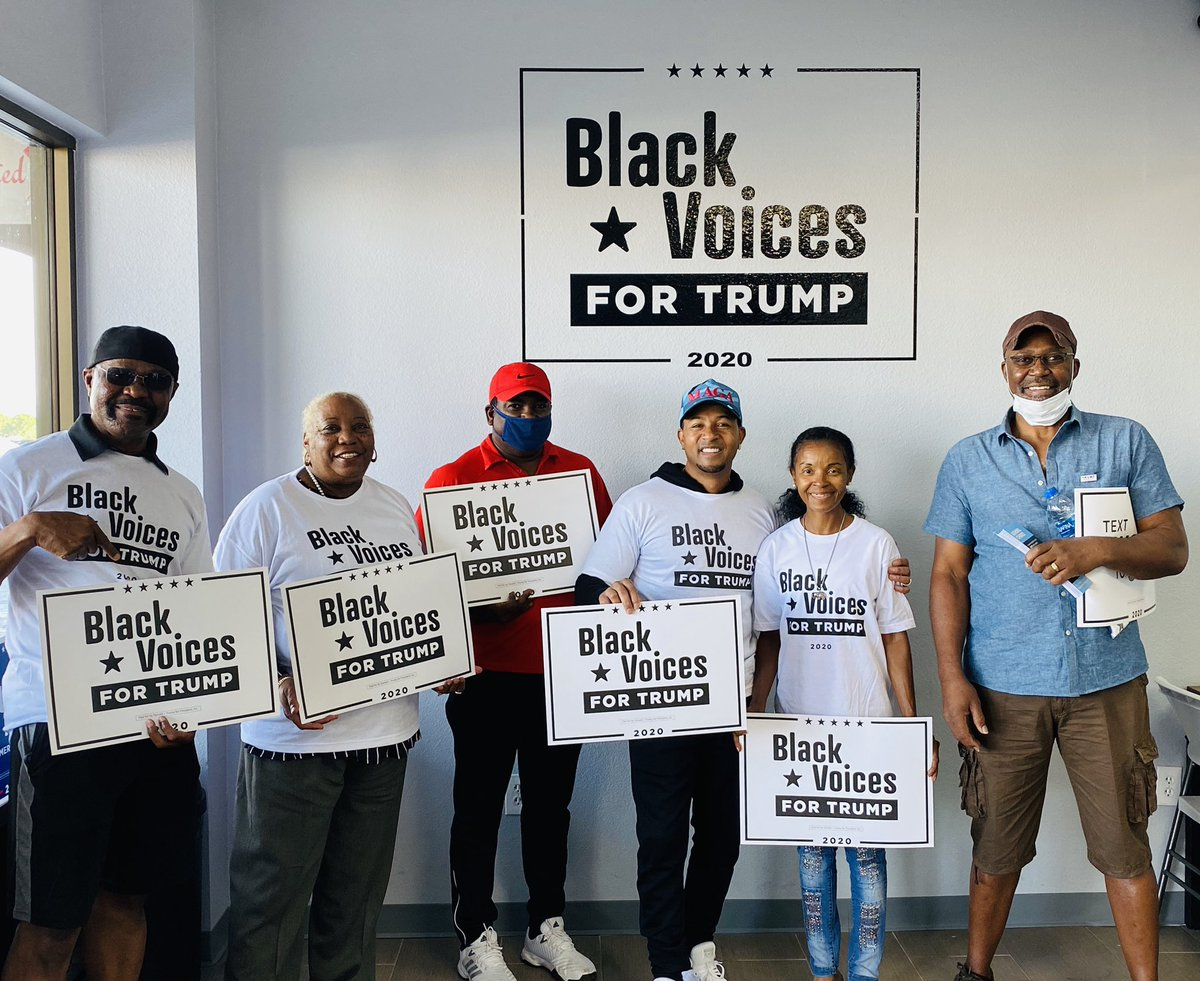 Our Nevada Black Voices For Trump  Office helped to kick off Money Monday's with Niger Innis who is amazing at communicating @realDonaldTrump accomplishments and vision for prosperity, and policies that have helped the Black Community #BlackVoicesForTrump @BlackVoices4DJT @NVGOP