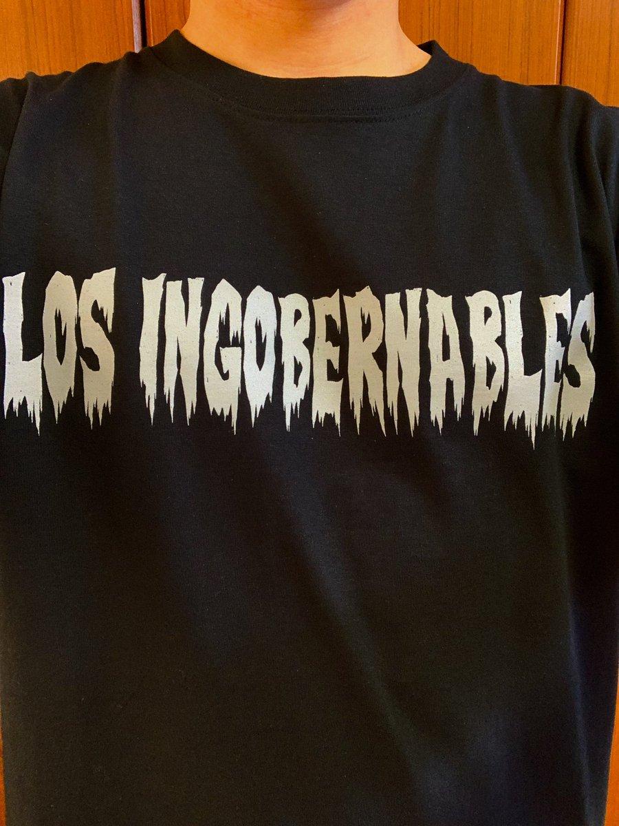 test ツイッターメディア - 今日はロスインゴTシャツ! この前自分の野球の試合が終わって着替えてから軽くミーティングする時に助っ人で来てくれたら人が中邑真輔のTシャツ着てて話しかけたら、プロレストークで盛り上がりました✨ ありがとうプロレス!✨✨✨ #プロレスTシャツ  #ロスインゴ https://t.co/rkZN6Mqq3q