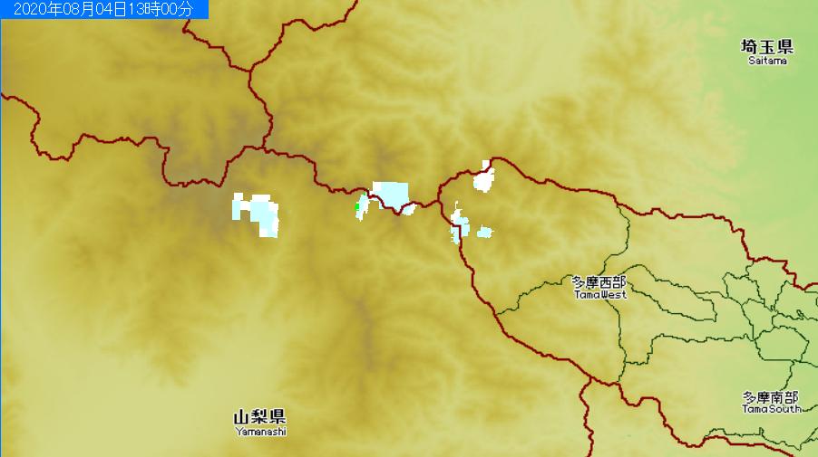 test ツイッターメディア - アメッシュ見ると東京都と埼玉県と山梨県の境目に、毎日夕立が来たり雨が降ってる雲取山っていう場所があるんだけど、ここっていったいどんなところなんだろう? 道もないみたい。 https://t.co/afTuB623A8