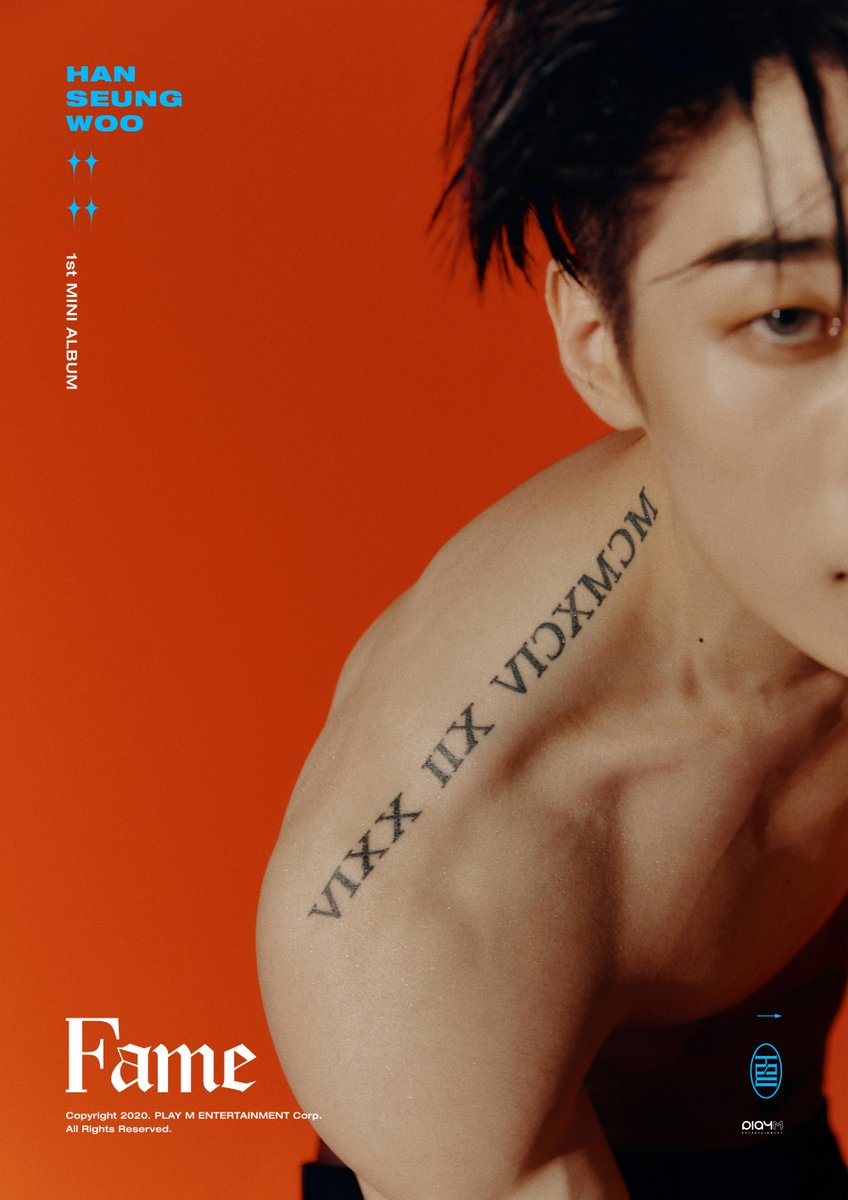 [#한승우] HAN SEUNG WOO 1st Mini Album [Fame] IMAGE TEASER #WOO  2020.08.10 18:00  #VICTON #승우 #SEUNGWOO #Fame #Sacrifice #TATTOO