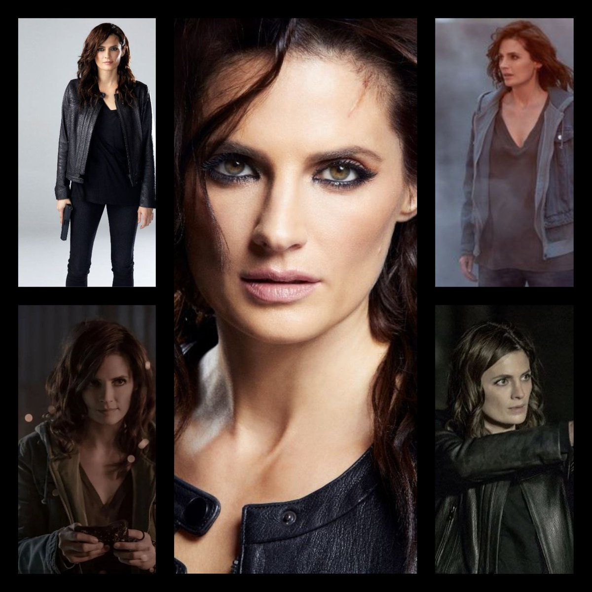 Good morning #Castle Fans!  It's Tuesday and we send you in a new summer day with our lovely @Stana_Katic ! The next days will be hot here in Germany!