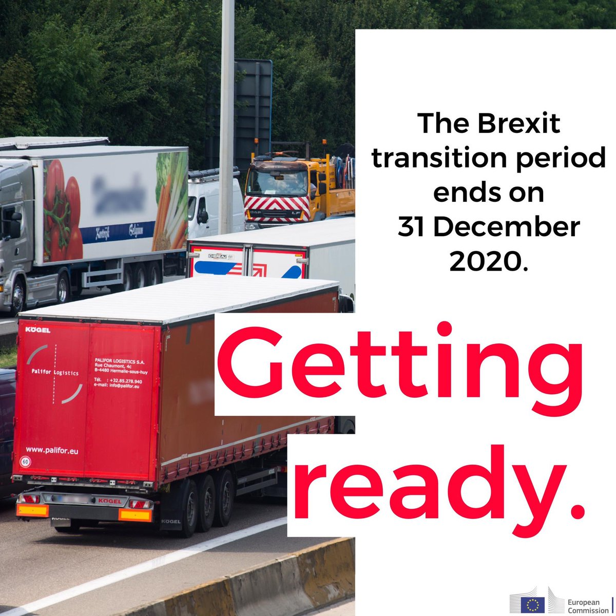 The #Brexit transition ends 31.12.2020. In 5 months, 🇬🇧 leaves 🇪🇺 Single Market and Customs Union.   Changes are inevitable, with or without agreement on the new partnership. Companies and citizens must get ready.   Find guidance from @EU_Commission here