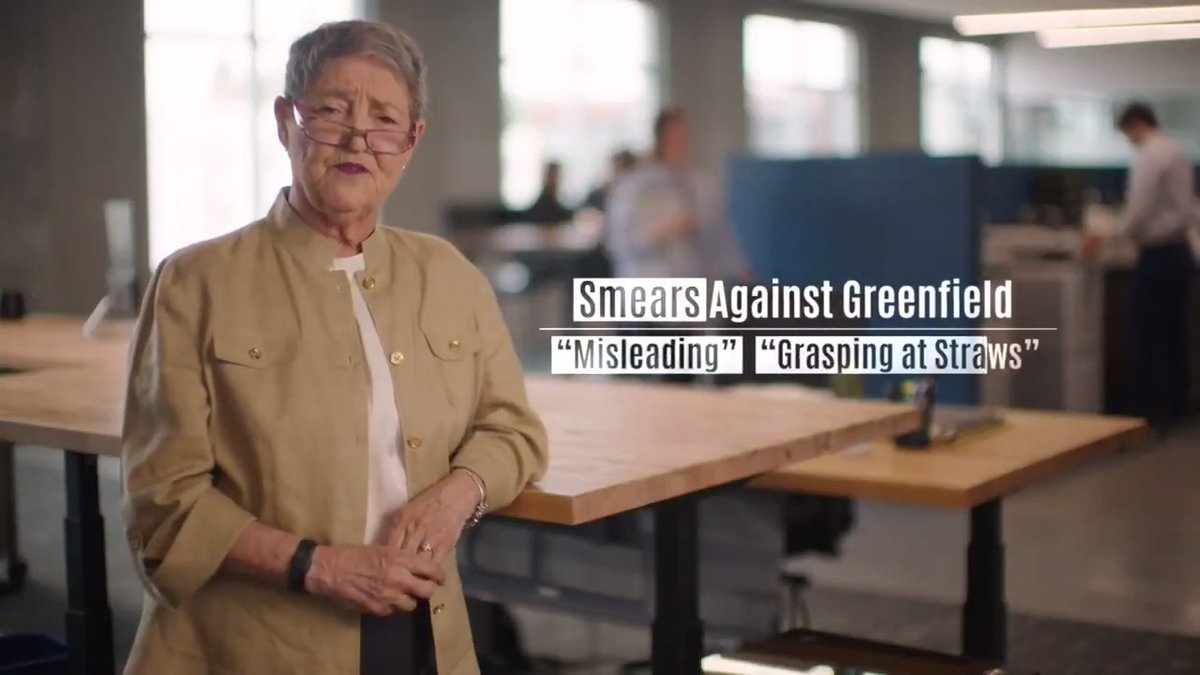 Iowans who know my small business record trust me to fight for hardworking Iowa families in Washington, and right now, Iowans need someone who will fight for them.  That's not what we have now in Sen. Ernst. WATCH our new #IASen ad: