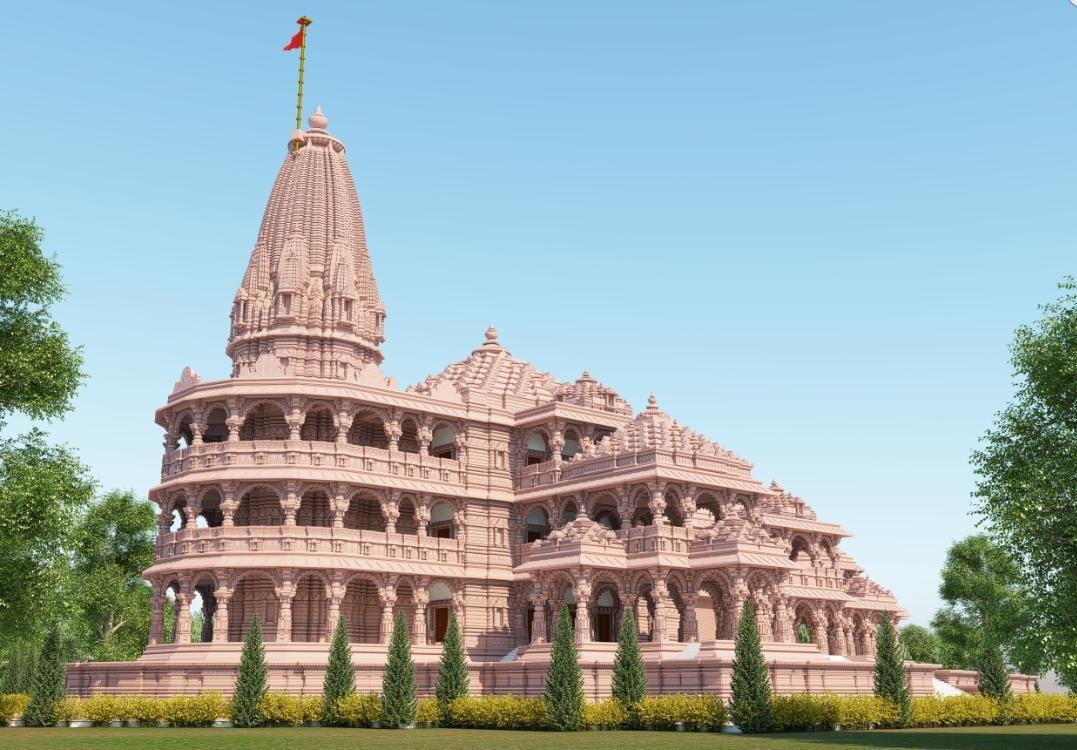 ऐसा अद्भुत व भव्य बनेगा अयोध्या में प्रभु श्री राम का मंदिर।  #JaiShriRam #सबके_राम