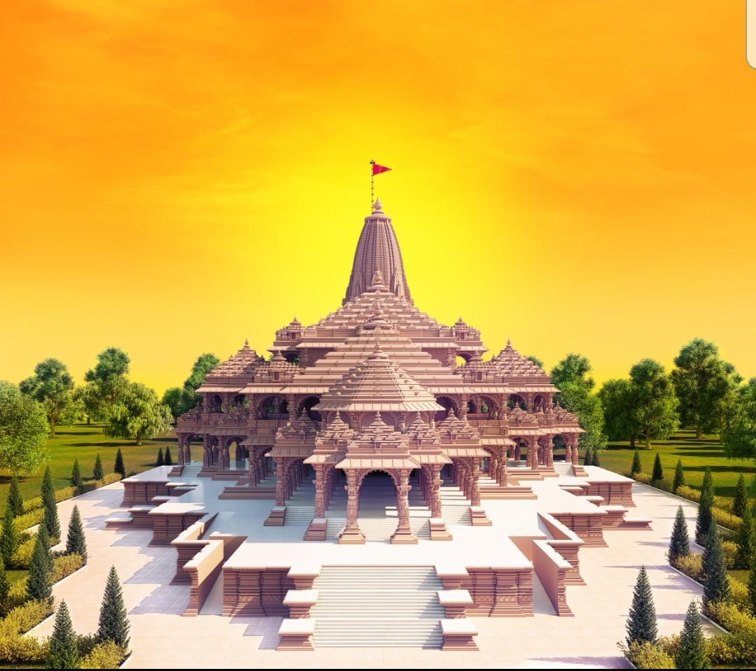 श्री राम जन्मभूमि मन्दिर विश्व में भारतीय स्थापत्य कला का अनुपम उदाहरण होगा।   जन्मभूमि मन्दिर के प्रस्तावित मॉडल के कुछ चित्र।  Shri Ram Janmbhoomi Mandir will be a unique example of Indian architecture.   Here are some photos of the proposed model.  जय श्री राम! Jai Shri Ram!