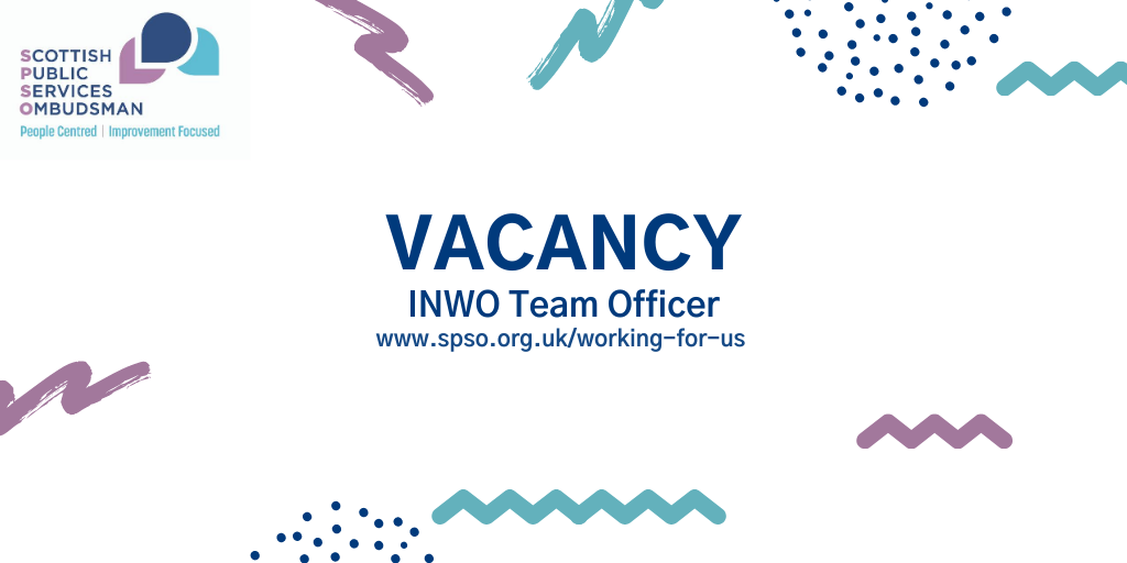 #JobAlert We are recruiting for an Independent National Whistleblowing Officer Team Officer. For more information, and how to apply, please visit  #EdinburghJobs #Vacancy
