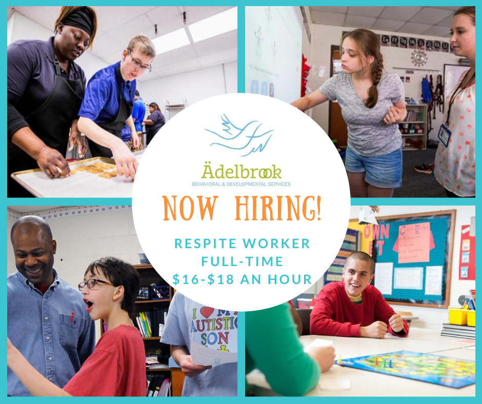 Ädelbrook Behavioral & Developmental Services in Cromwell, CT is currently seeking to hire a Respite Worker. The Respite Worker provides guidance, social and life skills training to youth in residence that have Pervasive Developmental Disorders (PDDs).
