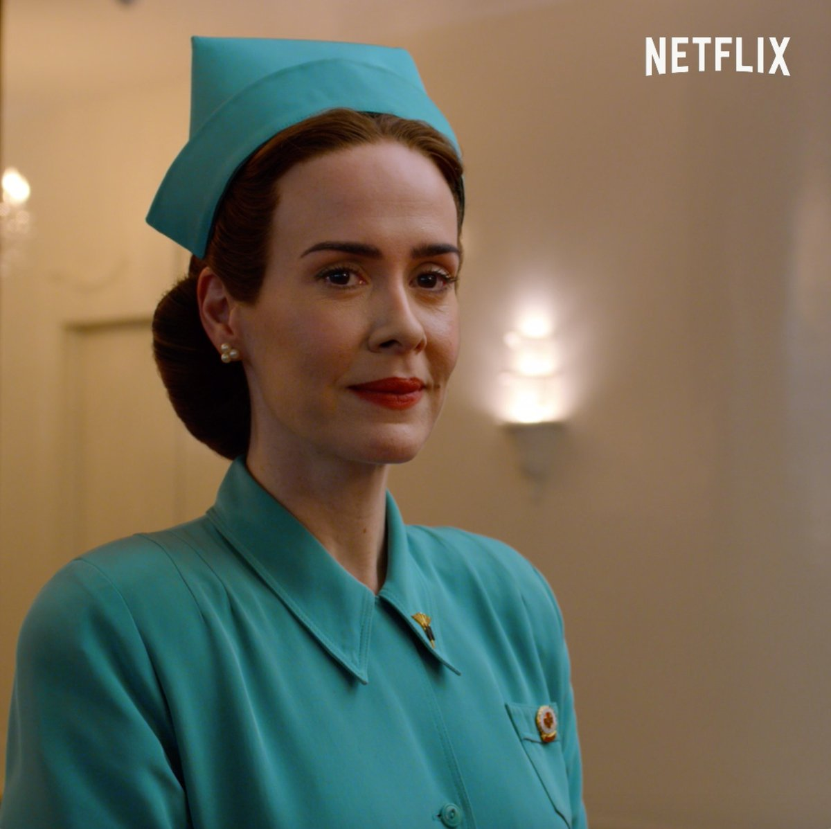 Sarah Paulson's new series Ratched premieres September 18.  We appreciate your patients.