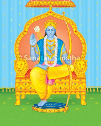 भारतभू की मिट्टी में श्रीराम। सनातन संस्कृति का प्रतीक हैं श्रीराम।।  हमारे आराध्य हैं श्रीराम। जीवन का सार है श्रीराम।।  कण-कण में श्रीराम। मन-मन में श्रीराम।।  भारत को पुन: विश्वविजेता बनाएंगे श्रीराम। हिन्दू राष्ट्र की प्रेरणा है श्रीराम।।  #5_अगस्त_भगवा_दिवस   @TigerRajaSingh