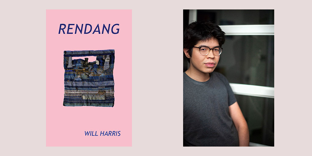 "test Twitter Media - Announcing ""RENDANG"" by Will Harris.  ""Harris offers an urgent and moving exploration of cultural identity and legacy, one made all the richer by its unique narrative structure and playful attention to sound."" -Publishers Weekly @soshunetwork  https://t.co/mFs51lz0YC https://t.co/NQmb3wtbGv"